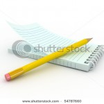 stock-photo--d-blank-paper-note-pad-with-pen-54787660
