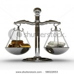 stock-photo--d-scales-wiht-dollar-and-bullion-isolated-58022653