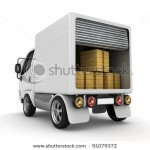 stock-photo--d-white-van-with-cardboard-boxes-isolated-91079372