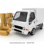 stock-photo--d-white-van-with-cardboard-boxes-isolated-91167791