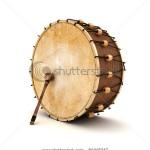 stock-photo-ramadan-drum-d-rendered-isolated-81315247