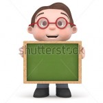 stock-photo-cute-boy-holding-a-blank-chalkboard-d-rendered-isolated-147778502