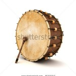 stock-photo-ramadan-drum-d-rendered-isolated-81315247