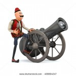 stock-photo--d-ramadan-drummer-with-ramadan-gun-isolated-408804247