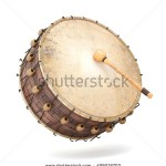 stock-photo-ramadan-drum-d-rendered-isolated-409218703