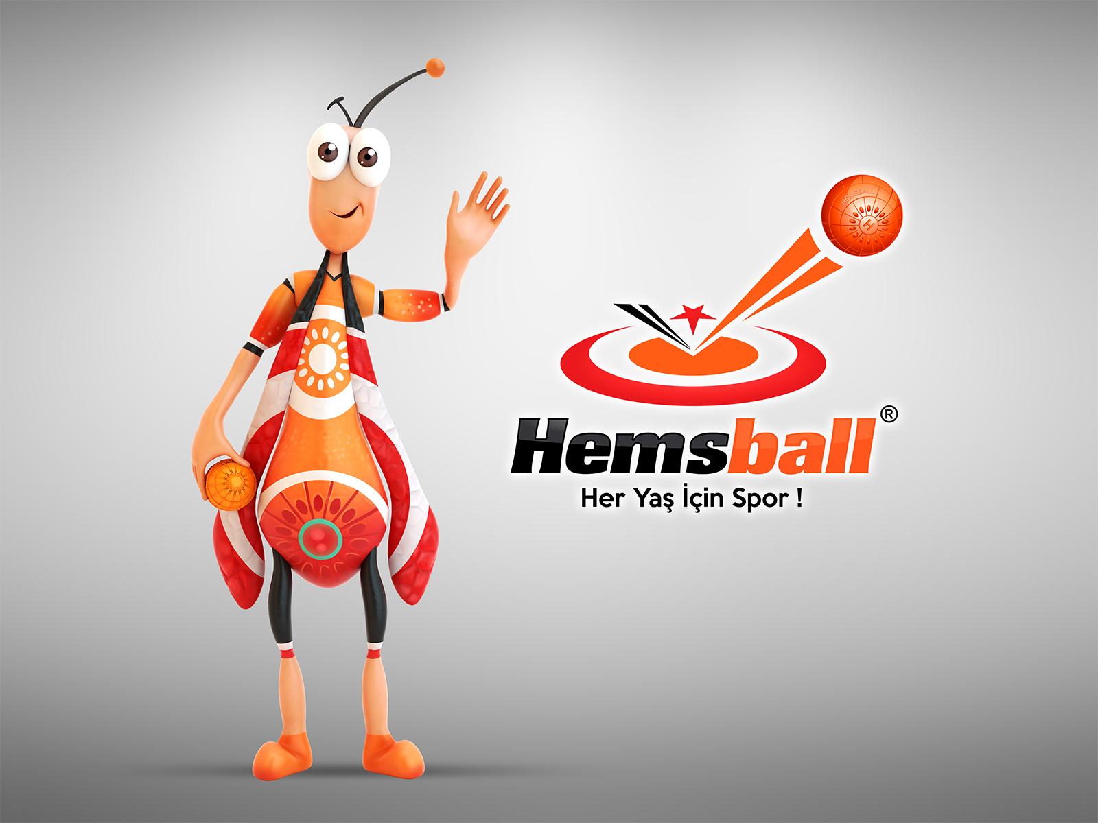 Hemsball-maskot-logo